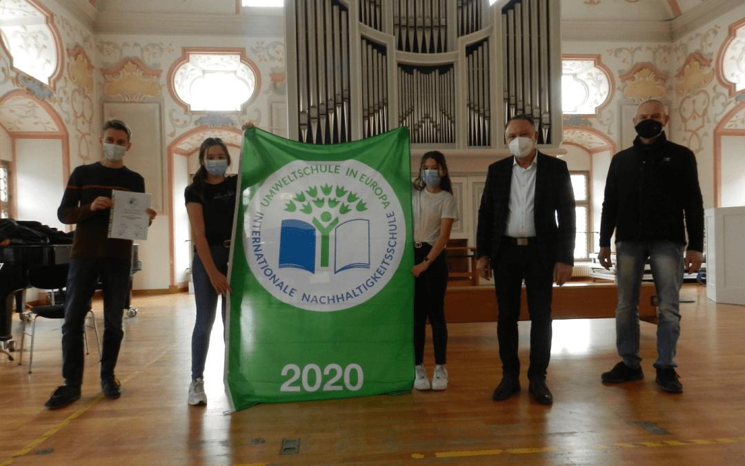 2020 Auszeichnung Umweltschule