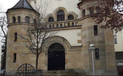 Synagogenbesuch der 9. Klassen